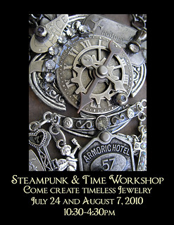 Steampunk & Time Workshop | by Lisa Kettell