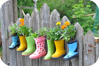 garden boots | by Rosina Huber