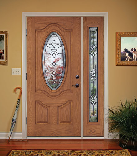 ... Feather River Door Fiberglass Entry Doors - Light Oak Door \u0026 Sidelite | by Feather River & Feather River Door Fiberglass Entry Doors - Light Oak Door\u2026 | Flickr