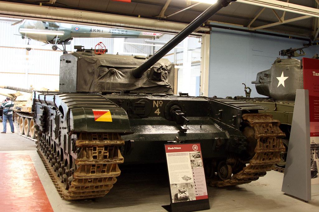 British Black Prince Tank