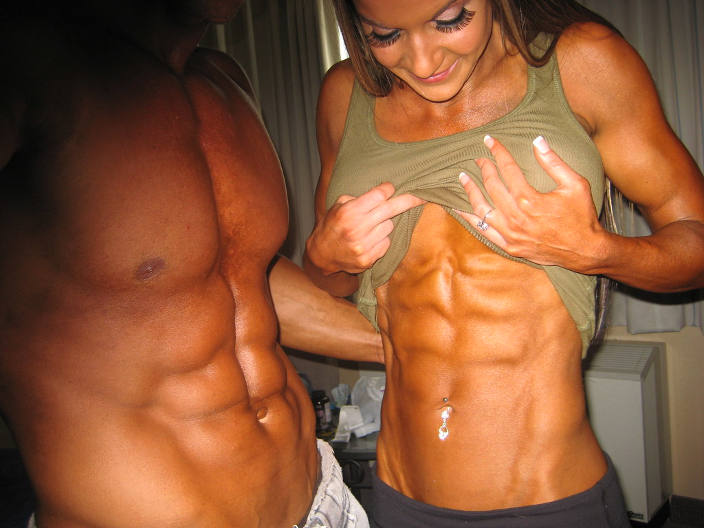 Six Pack Abs, Pro Fitness Models, Kansas City Personal Tra -3771