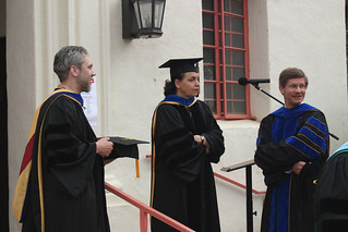 Faculty before Commencement ceremony | by California State University Channel Islands