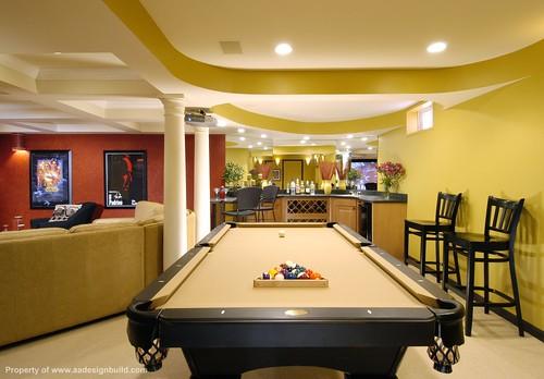 Pool Table Room Basic Ideas