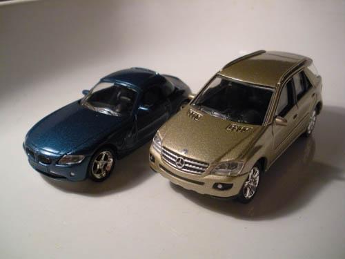 Bmw Z4 And Mercedes Ml Norev 3 Inch Norev Sam Flickr