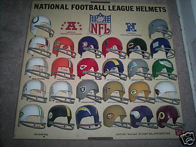 1970s Nfl Set Large Straw Hat Pizza Jpg This Is A Set Of