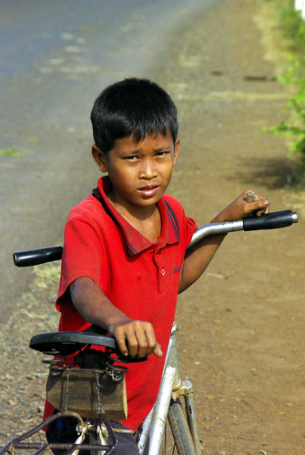 Young Cyclist, Cambodia | by The Hungry Cyclist