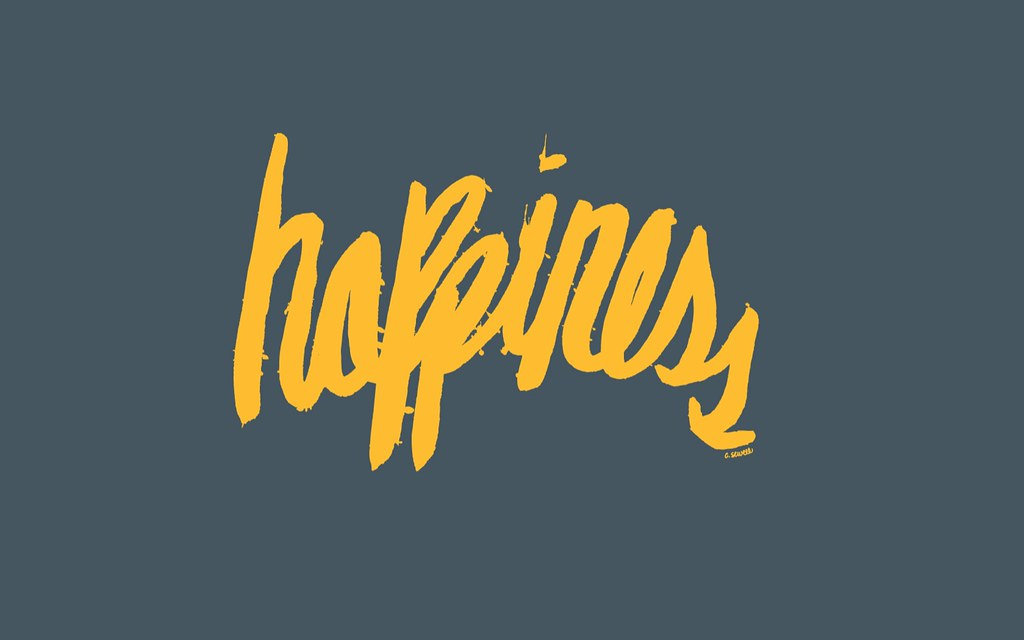 happiness wallpaper carolyn sewell flickr