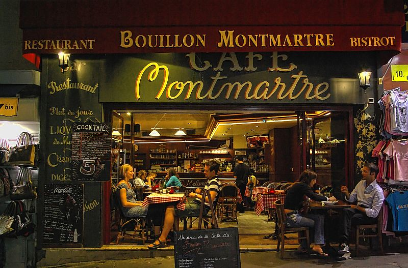 Paris Caf 233 Montmartre Caf 233 Montmartre Is In The