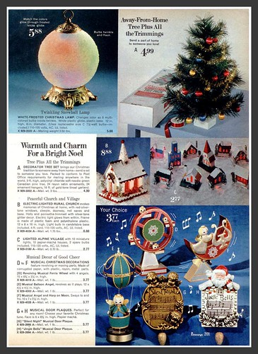 1970 Sears Christmas--LOTS OF VINTAGE JAPAN, putz too | by mcudeque