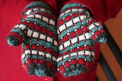 1960s Wool Plaid Mittens | by ElinorB