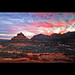 Sunset at Bell Rock - Sedona - Arizona