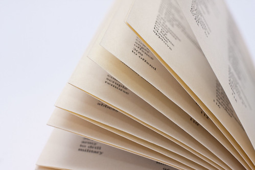 Yellowed pages from a dictionary | by Horia Varlan