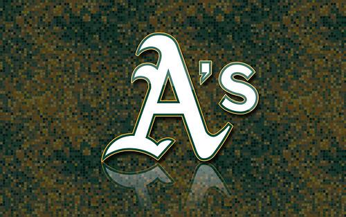 Oakland A's Logo Wallpaper | Michael Tipton | Flickr
