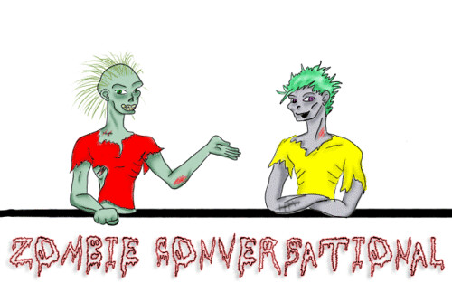 zombie converstaional now in COLOR | by ravenrules62226