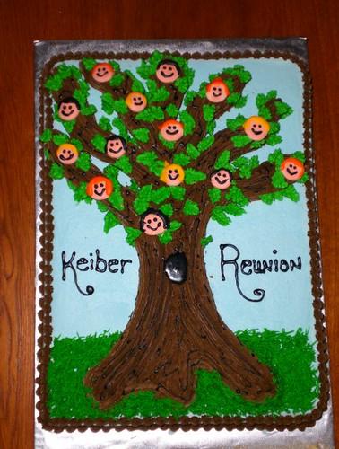 Family Tree Cake Ideas