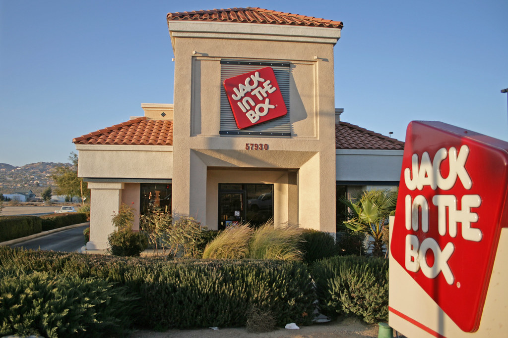 Jack In The Box Yucca Valley California Usa After