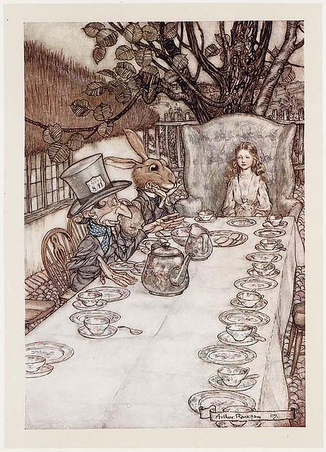 Alice S Adventures In Wonderland Illustrator Rackham 19