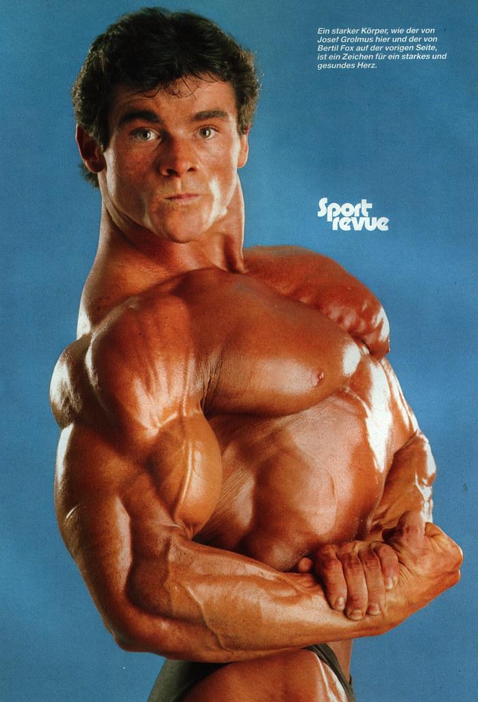 Bodybuilder Josef Grolmus | 80smuscle.blogspot.com | Flickr
