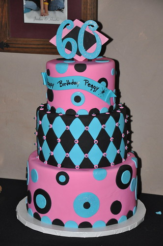 60th Birthday We did 3 60th Birthday cakes 3 weeks in a ...