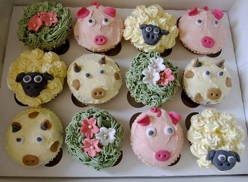Cupcake Decorating Ideas Animals : Animal Cupcakes Jessica Fox Flickr