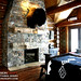 Log Home Master Bedroom in Jackson Hole, Wyoming | Photo