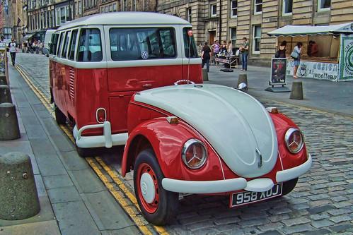 VW camper and trailer | Edinburgh, Midlothian, Scotland ...