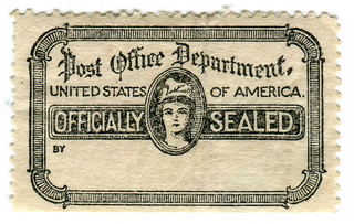 United States Official Stamp: officially sealed | by karen horton