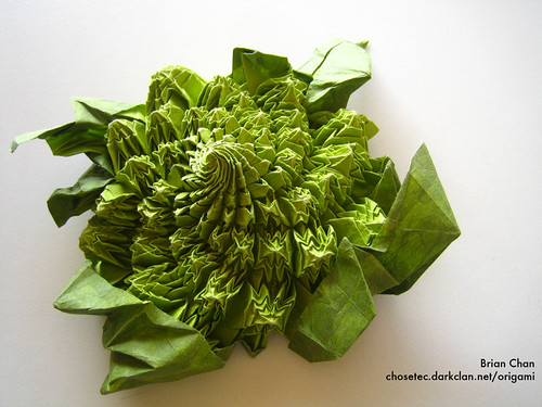 Origami Romanesco | Designed and folded by Brian Chan ... - photo#23