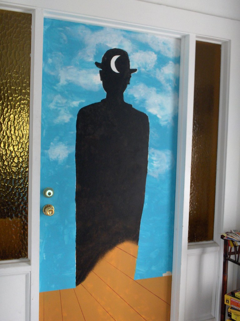 ... Magritte right door | by aiko-sumida & Magritte right door | Split the painting and added my own tou2026 | Flickr pezcame.com