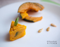 Roasted Kabocha Squash | by tinyurbankitchen