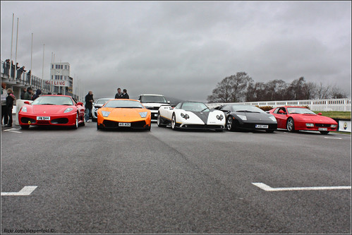Supercar Line Up | by Alex Penfold