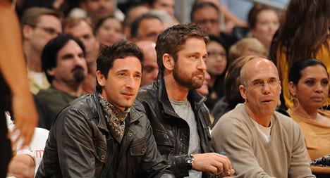 LA Lakers Game March 2010 | by Gerard Butler.Net
