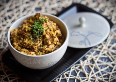 Microwavable Quinoa and Basmati Pilaf | by Allyson Kramer