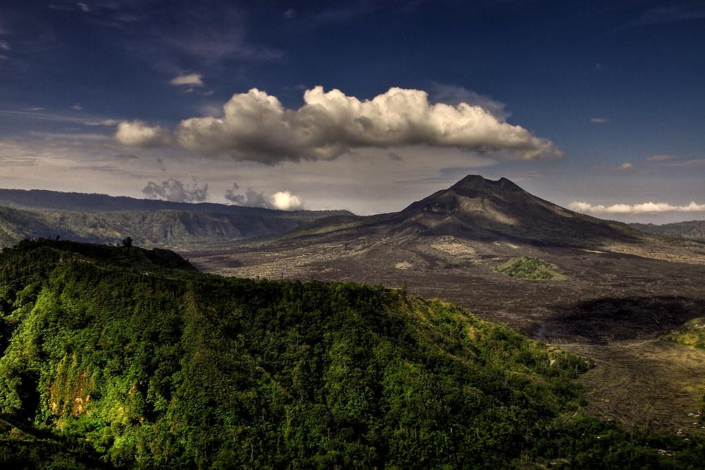 Mount Batur | Mount Batur (Gunung Batur) is an active ...