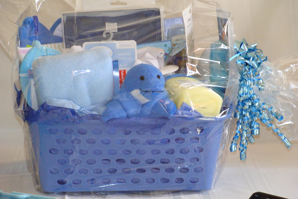 Baby shower gift basket boy formal and bizarre creations fab baby shower gift basket boy by formal and bizarre creations fab negle