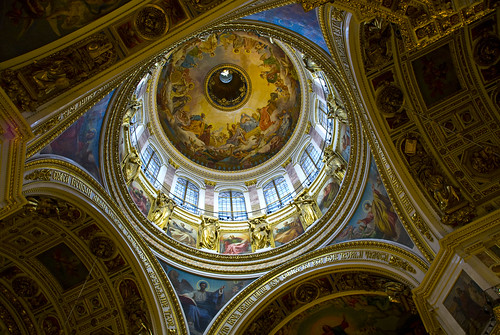 St. Isaac's Cathedral in Saint Petersburg | by dougoram1969