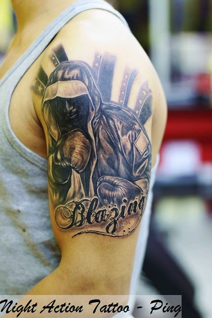 boxing tattoo | ping's tattoo | Flickr