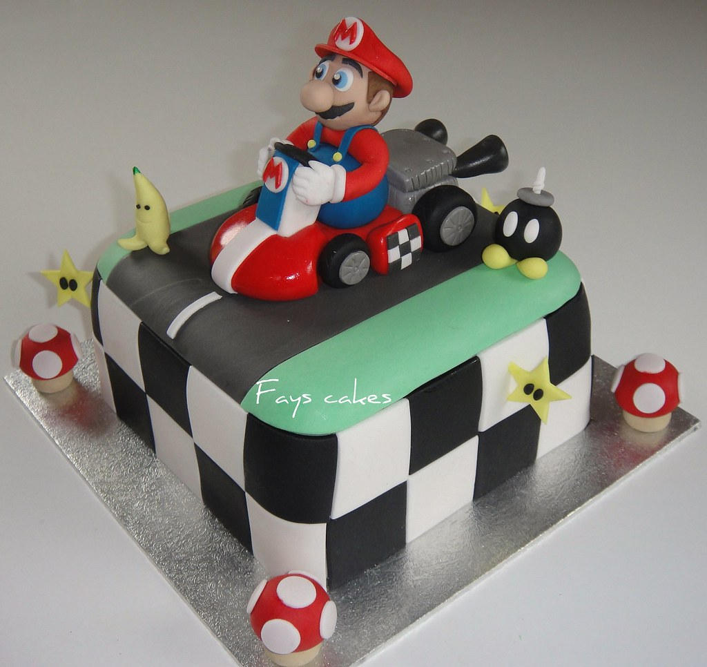 Mario Birthday Cake Sainsbury