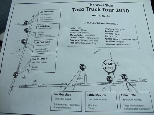 Taco Tour 2010 Map | by swampkitty