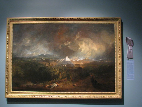 The Fifth Plague of Egypt, 1800, by JMW Turner | by C-Monster