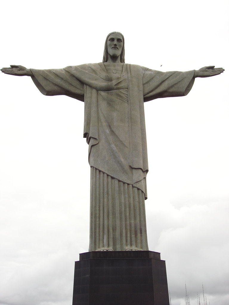 The statue of Christ in Rio de Janeiro - a new wonder of the world