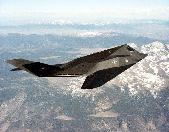 F117A Nighthawk Stealth Fighter  Airforce Technology