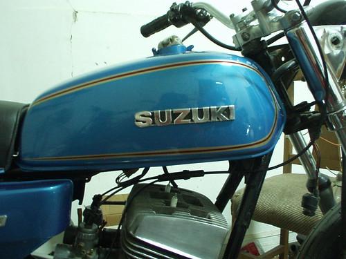 Suzuki GT 250 Fuel Tank Fabio Gherardelli Flickr