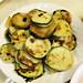 Andrew Fraser's  zucchini pancake (hobakjeon)