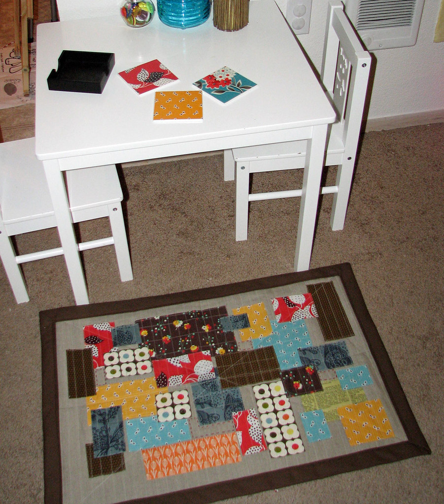 The Big Reveal My Kitchen Rug Is Finished And Sent To