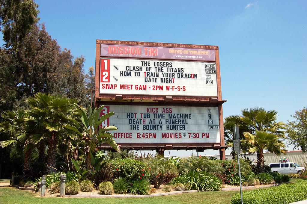 California Montclair Mission Tiki Drive In 8440b Flickr