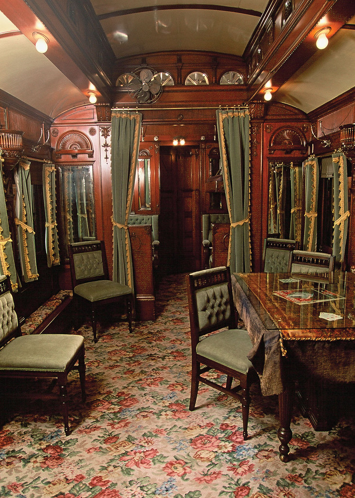 interior pullman private car adirondack museum flickr. Black Bedroom Furniture Sets. Home Design Ideas