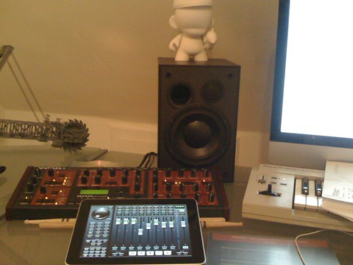 iPad as remote/mixer for my music software. Fantastic | by Christian Steen