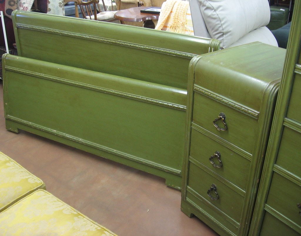 sold fs harmon mfg pre 60s bedroom set seattle
