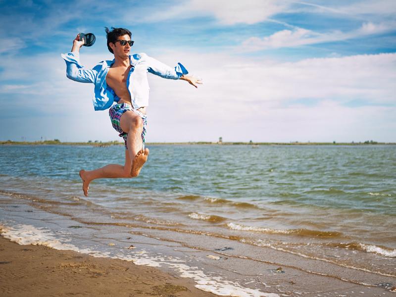 Beach sports: Flip-flop throw (Lanzamiento de chancla)